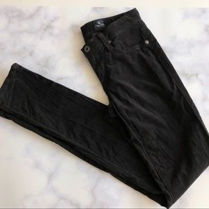 AG Super Skinny Corduroy Leggings in Black